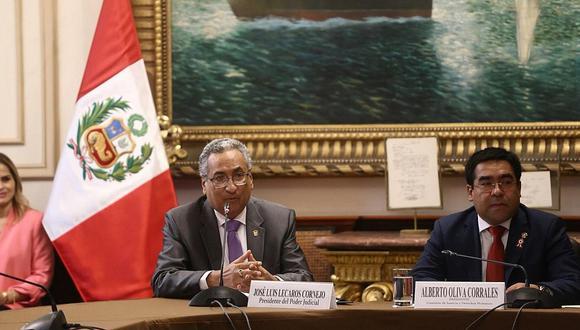 """Lecaros informa sobre excarcelación y fuga de """"Goro"""" ante Comisión de Justicia del Congreso (FOTOS)"""