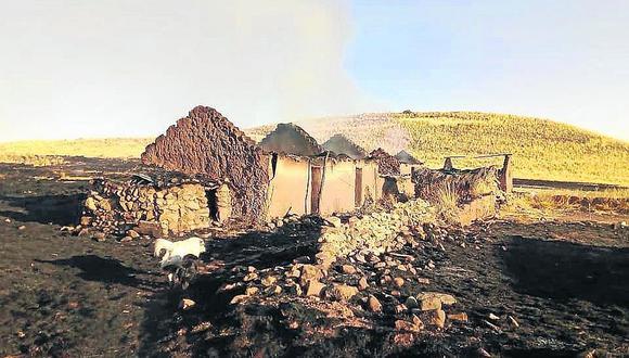 Incendio afecta más de 200 hectáreas de terreno en Vilque