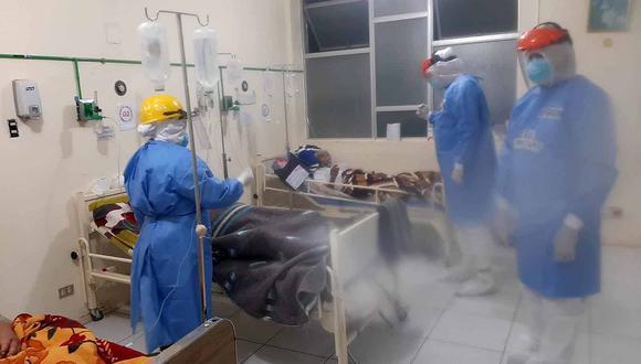 Hospital San José cierra setiembre con 22 hospitalizados con COVID-19