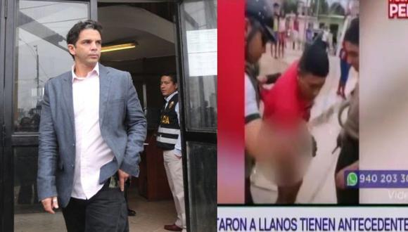Luis Miguel Llanos salió bien de la operación, pese a que recibió tres balazos. (GEC/ Captura Latina)