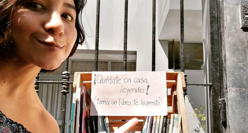 Josefina conversó con diario Correo y nos contó un poco más de este proyecto la Biblioteca de confianza.
