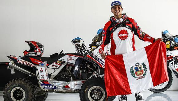 Alexis Hernández se ubicó tercero en Mundial de Rally Cross Country