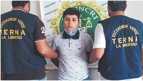Intervenido tuvo un proceso por el delito contra el patrimonio. Joven se movilizaba en un vehículo menor. (Foto: PNP)
