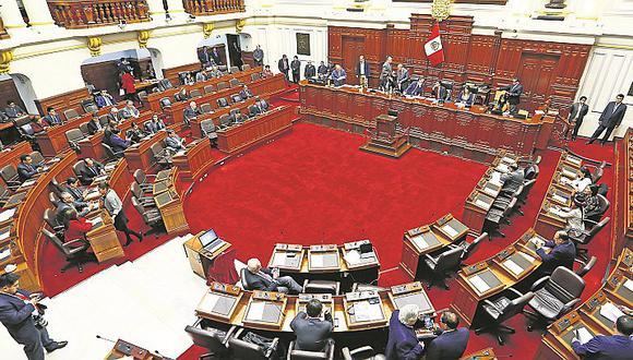 Pleno aprobaría hoy reforma para supervisar los fondos partidarios