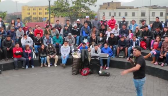 Cómicos ambulantes piden regresar a la Alameda Chabuca Granda. (Foto referencial)