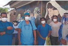 Tumbes: Realizan plantón en el hospital regional