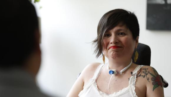 Ana Estrada obtuvo un fallo que le permite acceder a la eutanasia. Foto: EFE/Paolo Aguilar