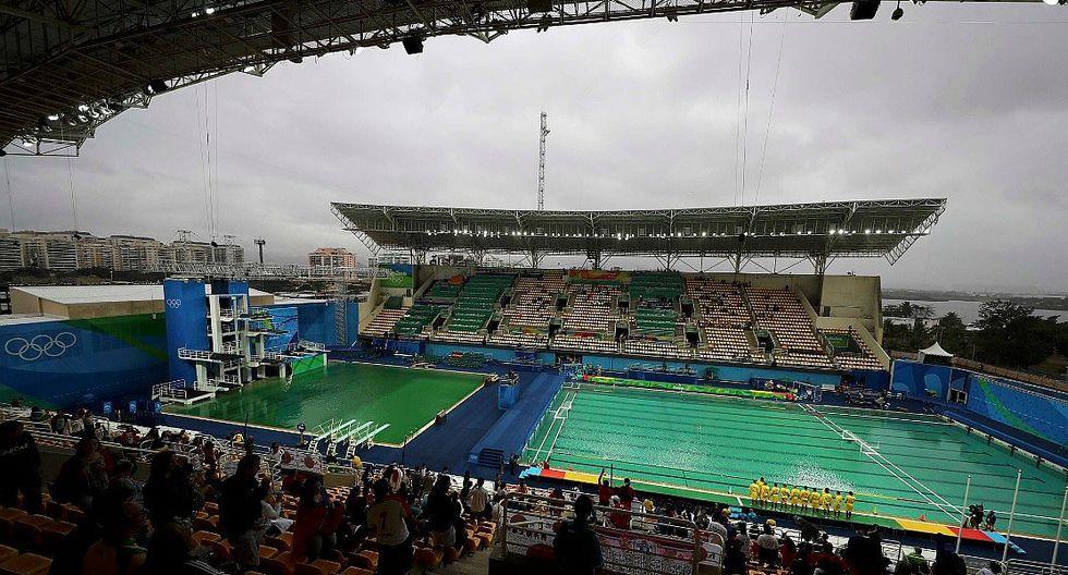 Río 2016: Este es el misterio del color verde de piscinas olímpicas