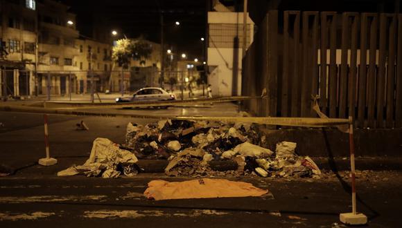 Fatídico suceso se registró en el cruce de las avenidas 28 de julio y Aviación. Fotos: Anthony Niño de Guzmán / @photo.gec