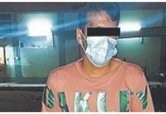 Capturan a peligroso delincuente que era el terror de los vecinos de La Noria, en Trujillo