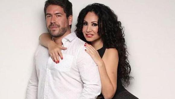 Janet Barboza y su pareja, Miguel Bayona