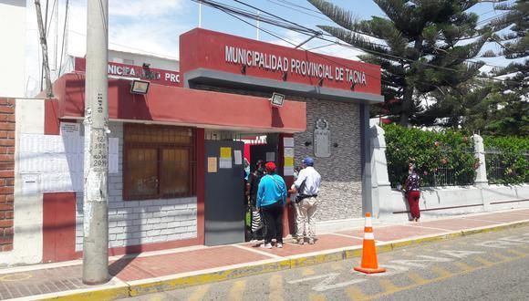 Municipalidad Provincial de Tacna tendrá una sesión este viernes a las 6 h. (Foto: Correo)