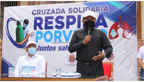 Iglesia y Municipalidad Distrital de El Porvenir se unieron para iniciar recolección de 850 mil soles para comprar moderno equipo.