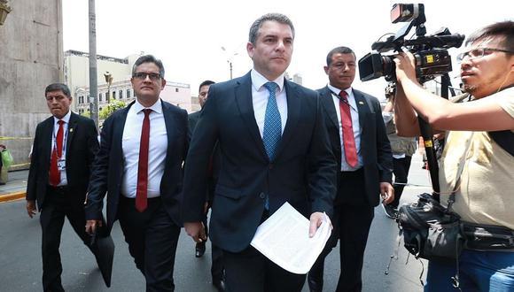 El fiscal Rafael Vela señaló que las audiencias de prisión preventiva buscan que acusados no cumplan con la medida decretada. (Foto: Andina)