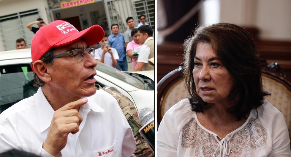 """Martha Chávez sobre vacancia: """"No podemos dejar que Martín Vizcarra siga un minuto más"""""""