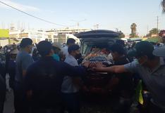 Multitud despidió al alcalde de Cairani Javier Mamani