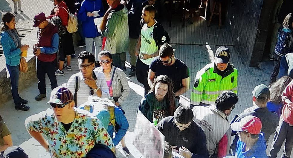 Piden drástica sanción para 'mochileros' que dañaron patrimonio en Machu Picchu (FOTOS)