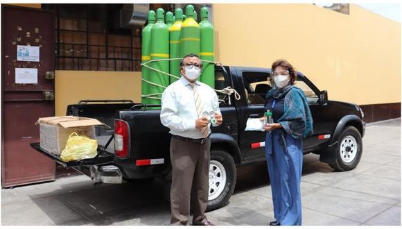 Equipos médicos serán utilizado por la comunidad universitaria que lucha contra el COVID-19. (Foto: Facebook UNT)
