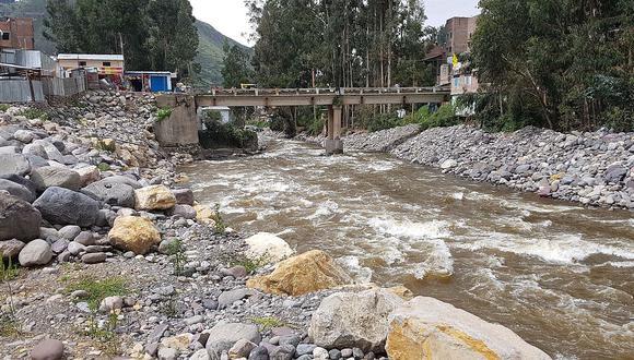 Identifican riesgos en obra contra inundaciones en Huancavelica de cerca de S/ 44 millones