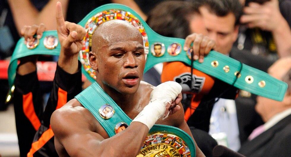 """Confirmado: Floyd Mayweather pierde título ganado en la """"pelea del siglo"""""""