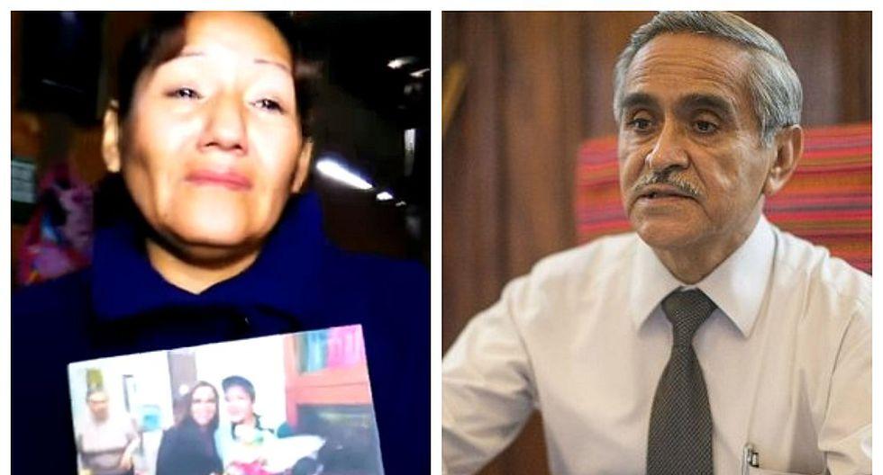 Trabajadora de limpieza denuncia despido por foto junto a esposa de Duberlí Rodríguez (VIDEO)