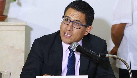 Amado Enco destacó que el gobierno de España haya tomado la decisión política a favor de la extradición de César Hinostroza. (Foto: GEC)