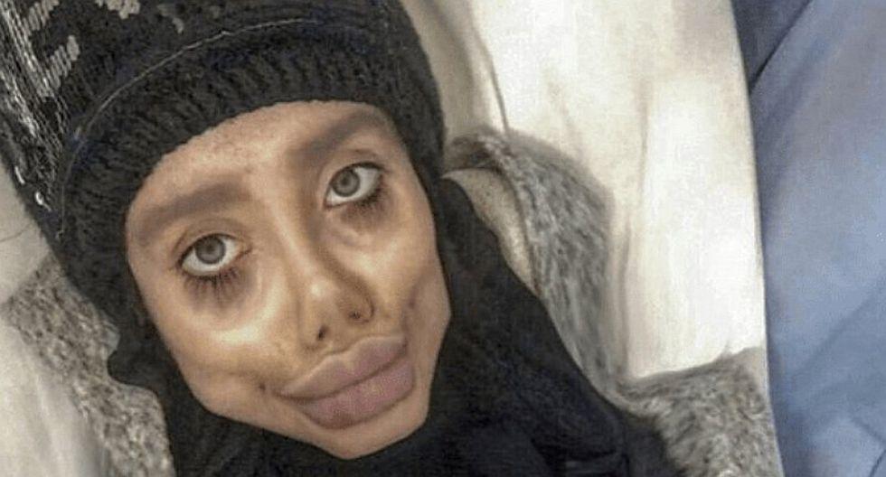 La 'Angelina Jolie iraní' fue detenida por cometer 'blasfemia' en redes sociales
