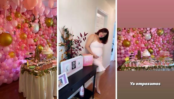 Lesly Castillo se alista para la pronta llegada de su segunda hija. (Foto: Instagram @leslycastilloof)