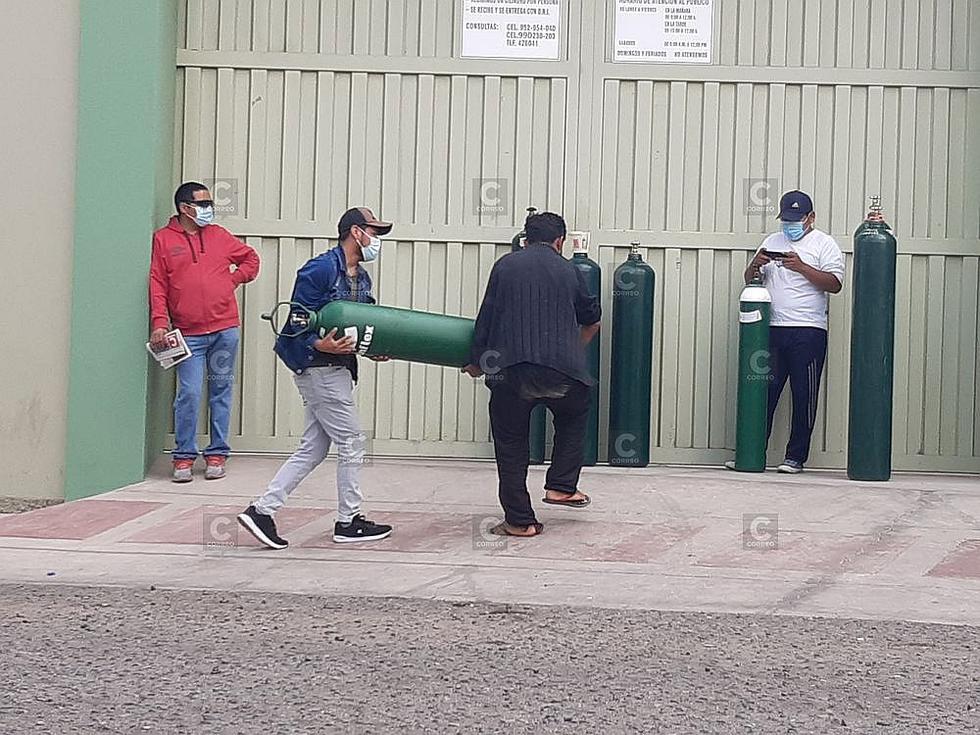 Sobredemanda de oxígeno en planta privada en Tacna