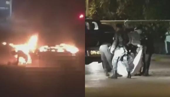 Queman a delincuentes que mataron a taxista por no pagar cupo