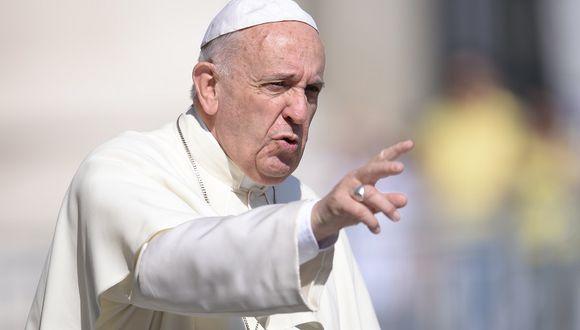 El papa Francisco critica la falta de voluntad en la lucha contra el hambre