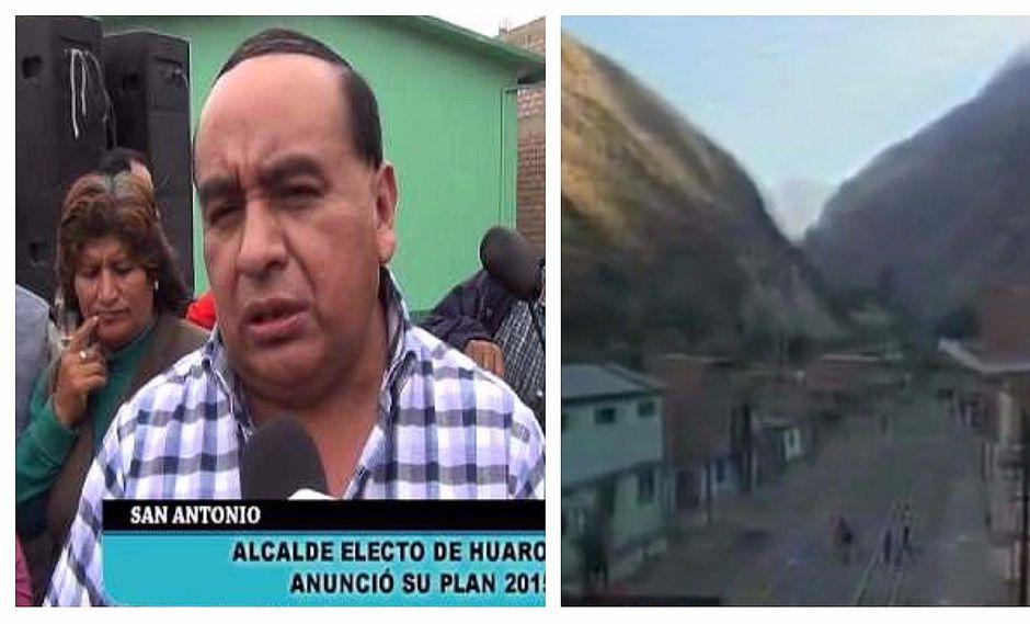 Sismos en Matucana: Denuncian que alcalde provincial no vive en la zona (VIDEO)