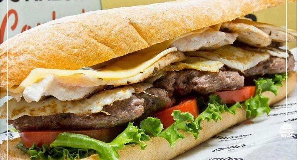 Hamburguesería pagará mil soles en efectivo a los que coman un sánguche de casi dos kilos