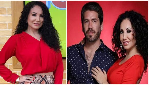 """Janet Barboza confiesa que su novio Miguel Bayona """"tiene mamitis""""."""
