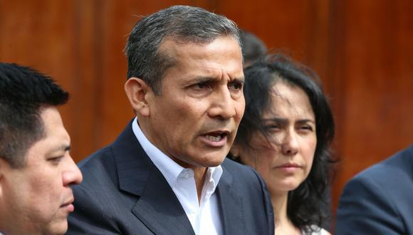 Ollanta Humala se refirió también a Martín Vizcarra y aseguró que la segunda ola no tiene nada que ver con su vacancia. (Foto: Andina)