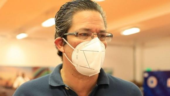 Gustavo San Martín insistió en su pedido a los hinchas a alentar desde casa. (Foto: IPD)