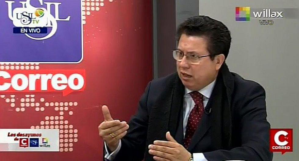 """Miguel Ángel Rodríguez Mackay: """"Si el Perú va al Mundial se van a abrir muchas puertas"""""""