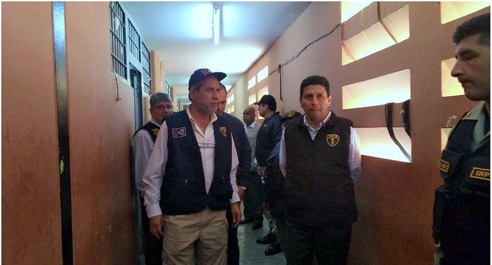 Director del INPE constata situación del penal de Chimbote