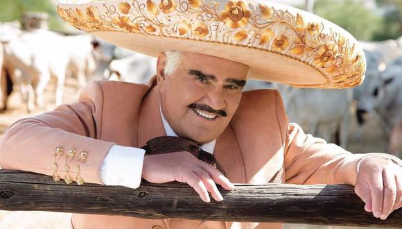 Vicente Fernández fue hospitalizado en México tras sufrir una caída en su rancho. (Foto: Instagram)