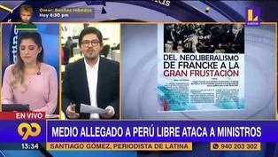 Pedro Castillo: Medio allegado a Perú Libre ataca a ministros Pedro Francke y Aníbal Torres (VIDEO)