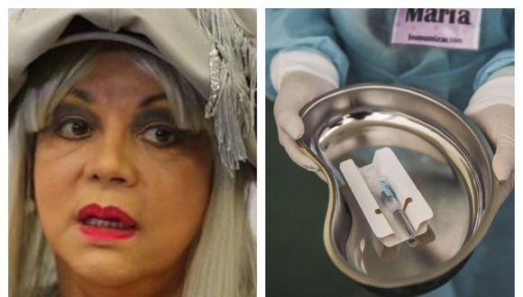 Yola Polastry criticó el procedimiento de vacunación. Collage: Correo / GEC