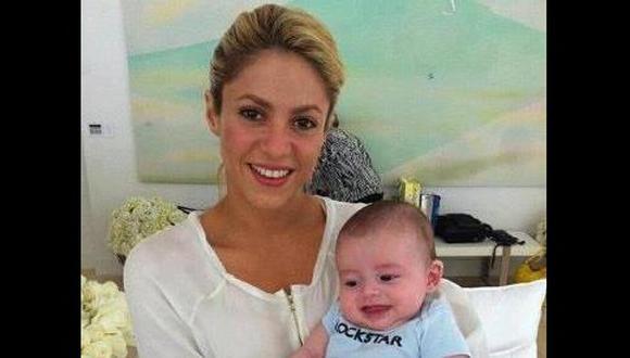 Shakira amamantará a Milan hasta que vaya a la universidad