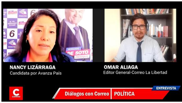 La candidata al Congreso por Avanza País con el número 6  refirió que hay población vulnerable en el olvido y necesitan de alguien que los represente con convicción y no solo por un voto.