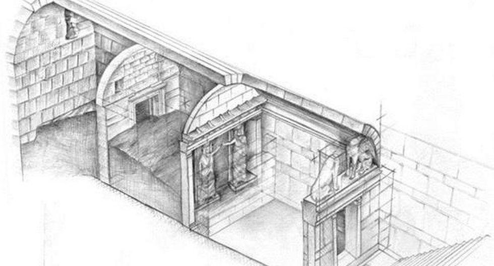 Arqueología: Restos óseos hallados en la tumba griega de Anfípolis pertenecen a 5 personas