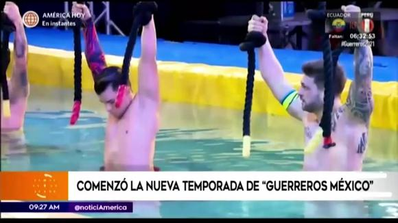 """Nicola Porcella loses the resistance challenge in the new season of """"Mexico's Warriors"""""""
