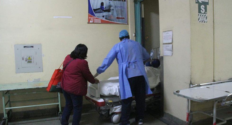 Abren investigación en Honorio Delgado por caso de paciente internada con COVID-19