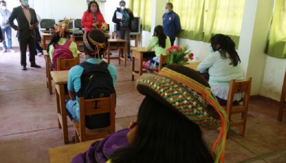 Escolares volverán a clases presenciales en zona rural desde el 19 de abril.