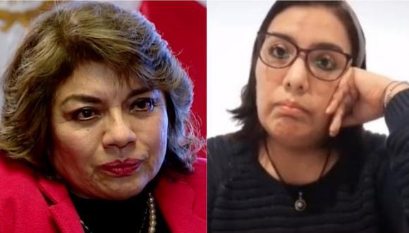 La fiscal de la Nación, Zoraida Ávalos, advirtió que ejecutará acciones legales si Karem Roca no se rectifica por dicho en audios. | Foto: Cuarto Poder - Congreso