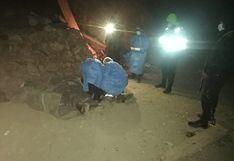 Tres hermanos mineros fallecen sepultados por lodo y piedras en Huancavelica