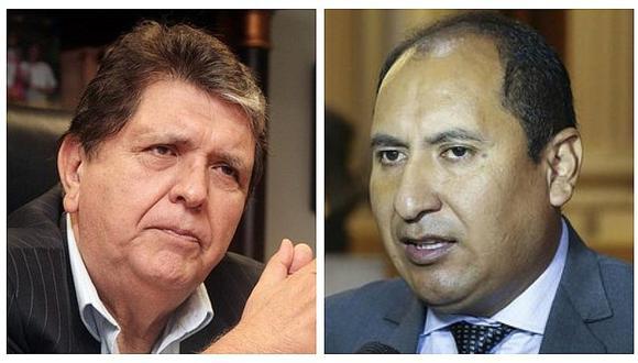 Abogado de Alan García anuncia demanda contra congresista Arce por señalar que expresidente recibió coimas